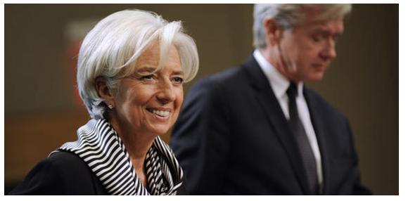 Blague du jour! Croissance mondiale : Christine Lagarde (FMI) de plus en plus pessimiste