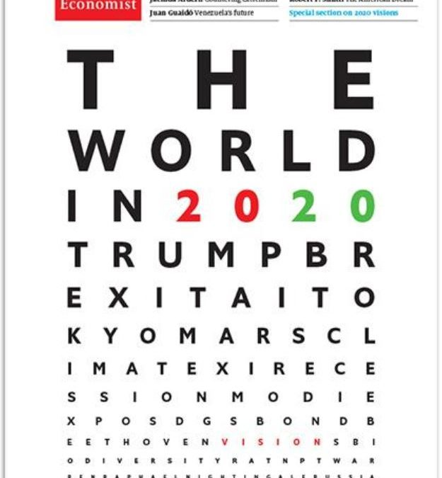 La «Une » de The Economist. Le monde en 2020 !