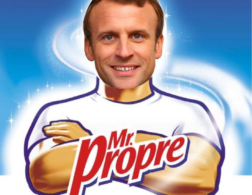 Macron Mr Propre