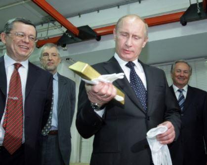Réserves d'or : la Russie a dépassé la Chine