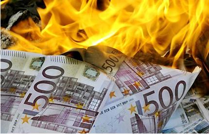 euros qui brulent