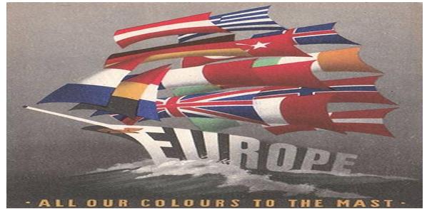 europe bateau drapeau