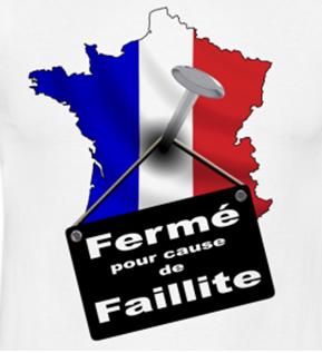 france-ferméé-faillite France en faillite humour