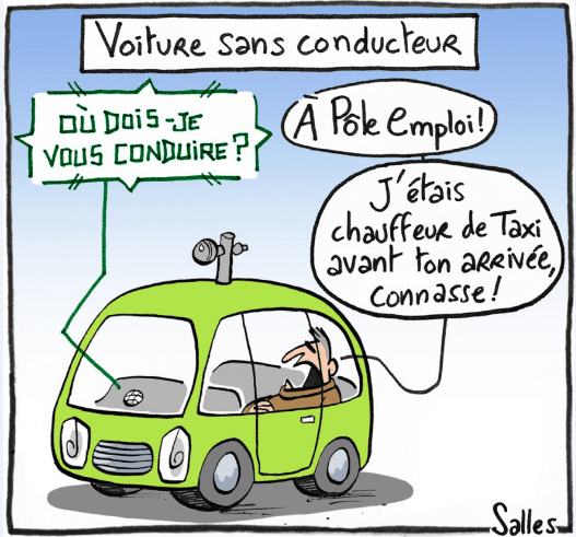 La stratégie de la France pour les voitures autonomes