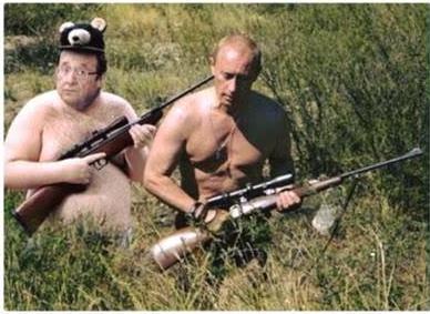 PROPAGANDE : en France, on prône de plus en plus l'amélioration des relations avec la Russie