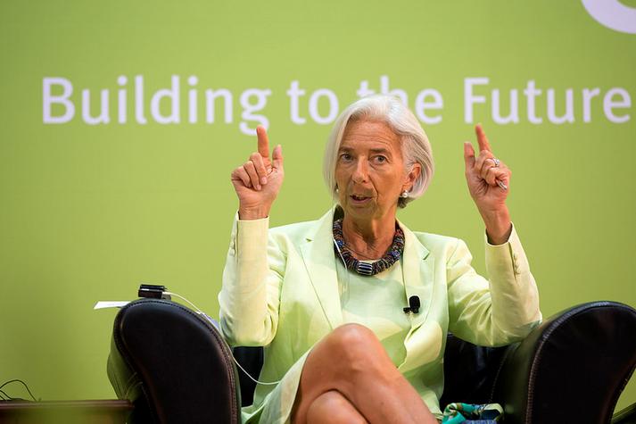 """Il y a des """"raisons d'être inquiet"""" pour l'économie mondiale, selon Christine Lagarde"""