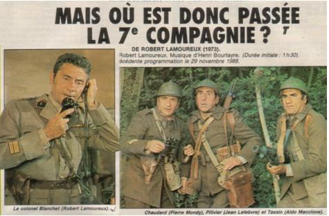 «J'ai glissé chef» ! La 7e compagnie revisitée… par la gendarmerie !!