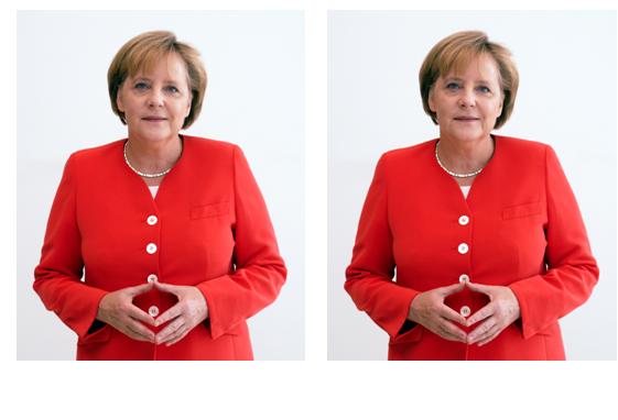 Ambiance glaciale entre Trump et Merkel !