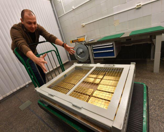 Reportage sur les réserves d'or Russe : impressionnant !