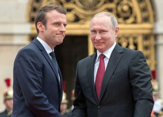 Visite de Macron en Russie maintenue