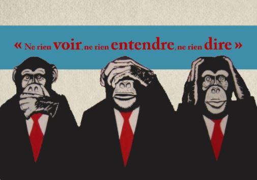 pensée conventionnel non conventionnel propagande les 3 singes