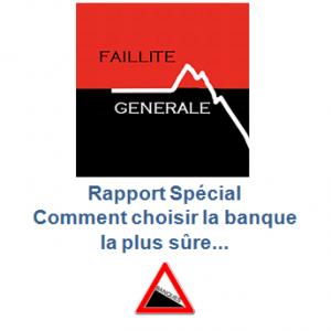 rapport spécial banque