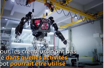 Science-fiction ? Non, réalité !! Un robot géant conduit par un homme