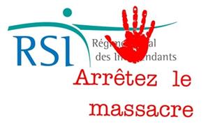 Des travailleurs indépendants rassemblés contre les «dysfonctionnements» du RSI