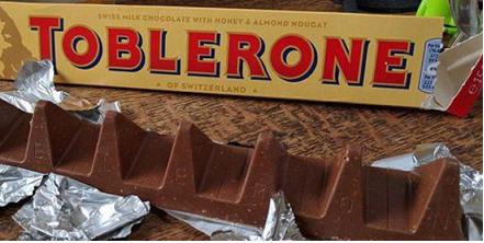 """""""Fake-News"""" ! La barre Toblerone au régime, mais ce n'est pas à cause du Brexit"""