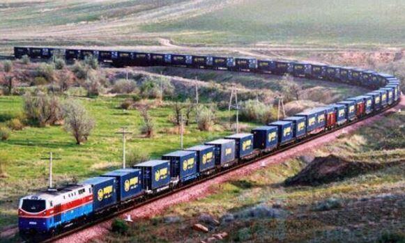 1 200 trains de marchandises entre la Chine et l'Europe !