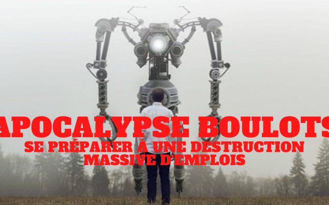 « Apocalypse Boulots. Le chômage va exploser, comment s'y préparer. » L'édito de Charles SANNAT